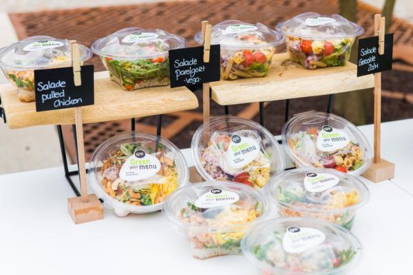 DOMUSDELA Grab n Go salades