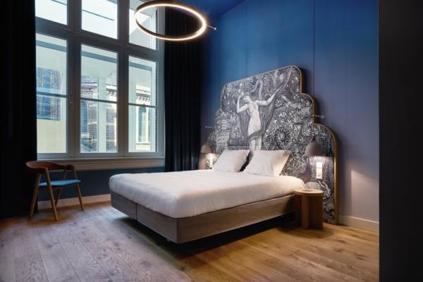 Hotel Marienhage room Blue Virgin 1