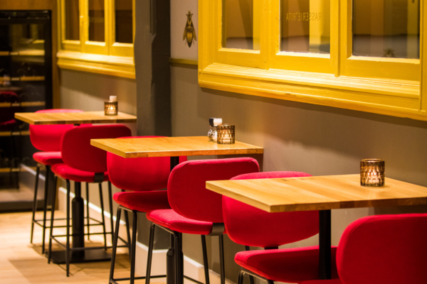 Twycer - Brasserie Rita hoge zit DOMUSDELA