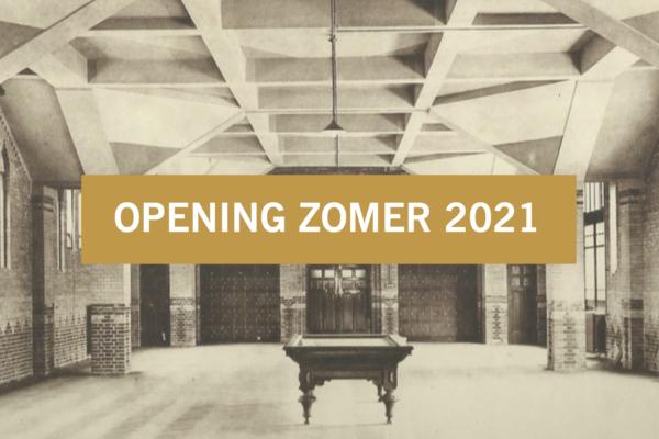 Visual De Refter historie opening zomer 2021